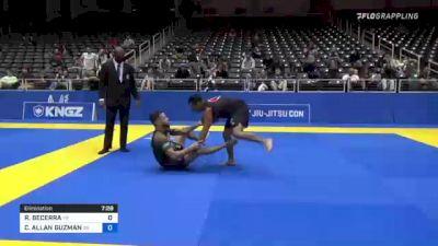 RODOLFO BECERRA vs CRISTIAN ALLAN GUZMAN 2021 World IBJJF Jiu-Jitsu No-Gi Championship