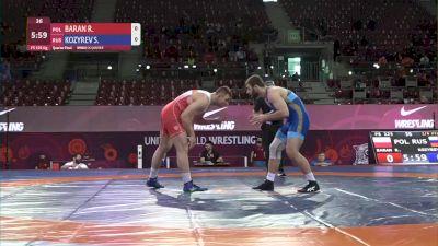 125 kg Robert Baran, POL vs Sergei Koyrev, RUS