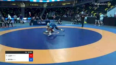 79 kg Prelims - Taylor Lujan, Panther Wrestling Club RTC vs Jaison White, New England Regional Training Center