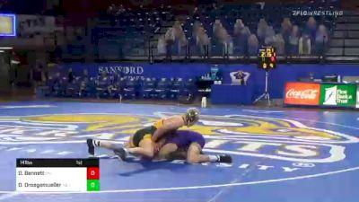 141 lbs Dylan Droegemueller, NDSU vs Drew Bennett, UNI