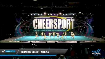 Olympus Cheer - Athena [2021 L2 Junior - D2 - Small - A Day 2] 2021 CHEERSPORT National Cheerleading Championship