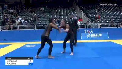 MIRELLA ATALLAH vs ASHLEY K. CRUZ 2021 World IBJJF Jiu-Jitsu No-Gi Championship