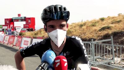 Romain Bardet: 'It Wasn't Possible Today'  Stage 9 - 2021 Vuelta A España