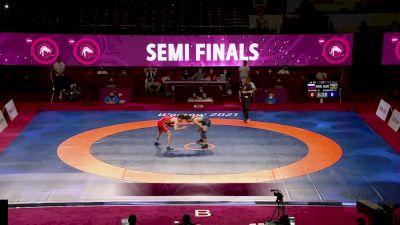 65 kg Semifinal - Zagir SHAKHIEV, RUS vs Ali RAHIMZADE, AZI