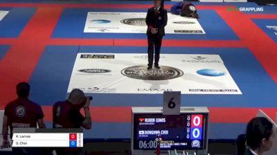 Ruben Lemos vs Donghwa Choi 2018 Abu Dhabi World Professional Jiu-Jitsu Championship