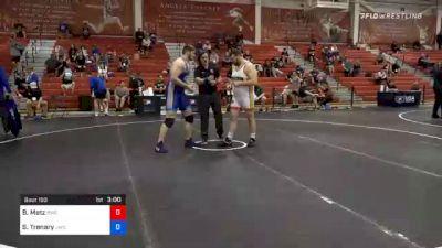 130 kg Prelims - Brandon Metz, Bison Wrestling Club vs Spencer Trenary, Jackrabbit Wrestling Club