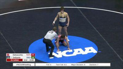 133 c, Scott Delvecchio, Rutgers vs Austin DeSanto, Drexel