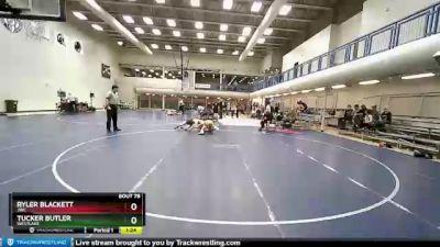 155 lbs Cons. Semi - Ryler Blackett, JWC vs Tucker Butler, Westlake