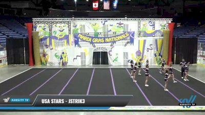 USA Stars - JStrik3 [2021 L3 Junior - D2 - Small] 2021 MG Bead Blast
