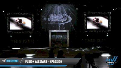 Fusion Allstars - Xplosion [2021 L1.1 Mini - PREP - D2 - A Day 1] 2021 The U.S. Finals: Louisville