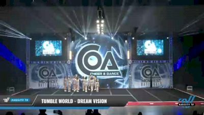 Tumble World - Dream Vision [2021 L3 Youth - D2 Day 2] 2021 COA: Midwest National Championship
