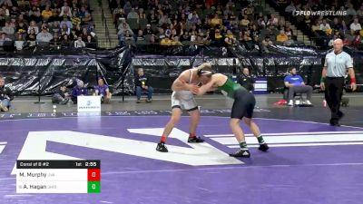 149 lbs Consolation - Michael Murphy, Virginia vs Alec Hagan, Ohio