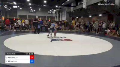 61 kg Prelims - Jesse Vasquez, California vs Lukas Richie, Pennsylvania RTC