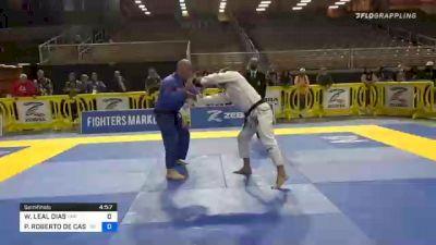 WELLINGTON LEAL DIAS vs PAULO ROBERTO DE CASTRO 2020 World Master IBJJF Jiu-Jitsu Championship