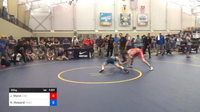 55 kg Quarterfinal - Jacob Mann, Xtreme Training vs Robert Howard, TMWC/Bitetto Trained