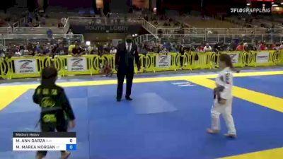 MARLEY ANN GARZA vs MAGNOLIA MAREA MORGAN 2021 Pan Kids Jiu-Jitsu IBJJF Championship