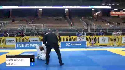 AMANDA SKYE CUDLITZ vs GEETA BHAT 2020 World Master IBJJF Jiu-Jitsu Championship