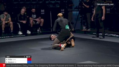 Haisam Rida vs Giancarlo Bodoni Who's Number One Championship