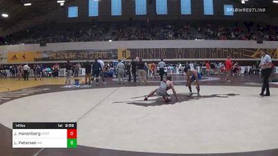 Match - Jason Hanenberg, Western State Colorado University vs Lenny Petersen, Air Force