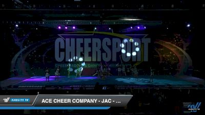 ACE Cheer Company - JAC - High Rollers [2019 Junior Small 3 Division B Day 2] 2019 CHEERSPORT Nationals