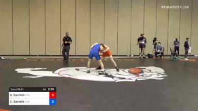 57 kg Consolation - Beau Bayless, New England RTC vs Eric Barnett, Wisconsin RTC