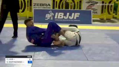 CICERO LIVIO vs KEVIN MARTINCOWSKI 2021 Pan Jiu-Jitsu IBJJF Championship