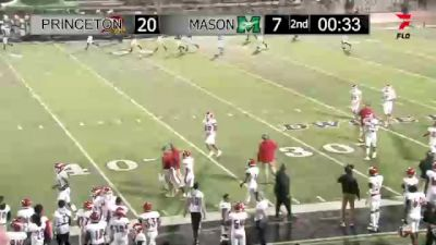 Replay: Mason vs Princeton - 2021 Mason (OH) vs Princeton | Oct 15 @ 7 PM