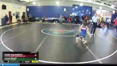 70 lbs Round 3 - Ethan Raley, Florida Scorpions vs Chase Wolgamuth, Seminole County Wrestling Club