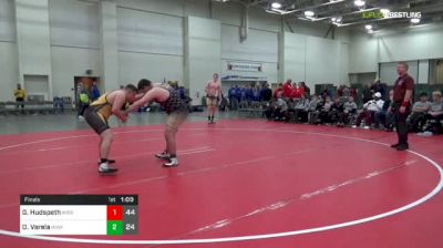 275 lbs Final - Garrett Hudspeth, Missouri United (M) vs Oran Varela, IKWF Gold (M)