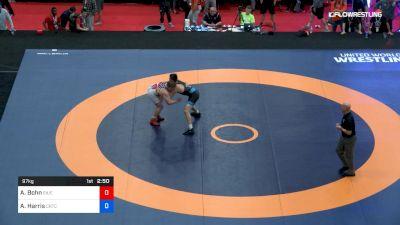 97 kg 3rd Place - Aric Bohn, Southern Illinois vs Austin Harris, Cowboy RTC/TMWC