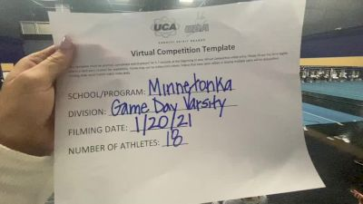 Minnetonka High School [Game Day Medium Varsity] 2021 UCA January Virtual Challenge