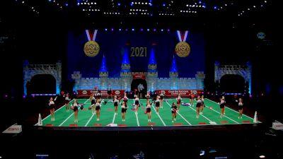 Hardin Jefferson High School [2021 Large Game Day Div II Finals] 2021 UCA National High School Cheerleading Championship