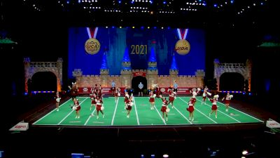 Lee University [2021 Small Coed Game Day Finals] 2021 UCA & UDA College Cheerleading & Dance Team National Championship