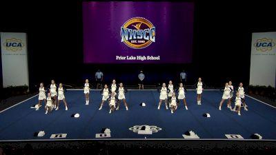Prior Lake High School [2021 Medium Non Tumbling Semis] 2021 UCA National High School Cheerleading Championship