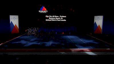 Flip City All Stars - Twisters [2021 L2 Junior - Small Semis] 2021 The Summit