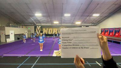 Davis Jr Blue Devils [L1 Performance Recreation - 14 & Younger (NON) - NB] 2021 USA Virtual Spirit Regional #3