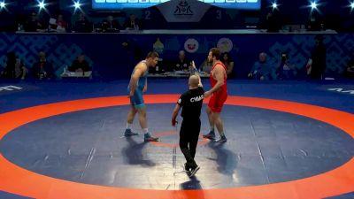 125 kg Bronze Medal Match, Baldan Tsyzhipov vs Saypudin Magomedov