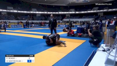 Clip: Hiago Geroge Hits A Rear Triangle Armlock On Junny At No Gi-Worlds