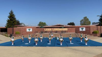 Leigh High School [High School - Band Chant - Cheer] 2021 USA Spirit & Dance Virtual National Championships