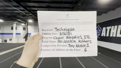 Cheer Athletics [L1 Tiny - Novice - Exhibition] 2021 Varsity Virtual Competition Series - Prep & Novice II