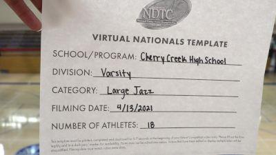 Cherry Creek High School [Virtual Large Varsity - Jazz Finals] 2021 UDA National Dance Team Championship