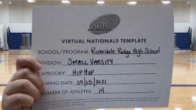 Riverdale Ridge High School [Small Varsity - Hip Hop Virtual Finals] 2021 UDA National Dance Team Championship