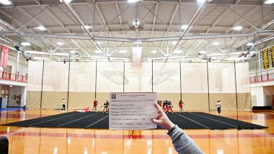 Bridgewater State University Black Squad [Virtual Intermediate Small Coed Division III Finals] 2021 NCA & NDA Collegiate Cheer & Dance Championship
