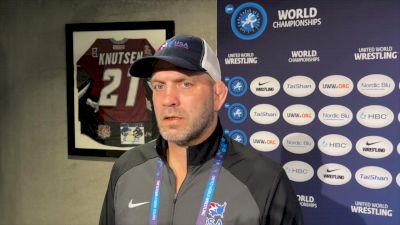 Coach Lindland On Up And Down First Day And Greco Expectations