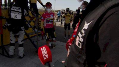 Primoz Roglic Before Stage 5 of 2020 Vuelta a Espana