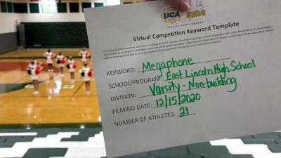 East Lincoln High School [Game Day Varsity - Non-Building] 2020 UCA Virtual Regional