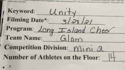 Long Island Cheer - Glam [L2 Mini] 2021 Mid Atlantic Virtual Championship
