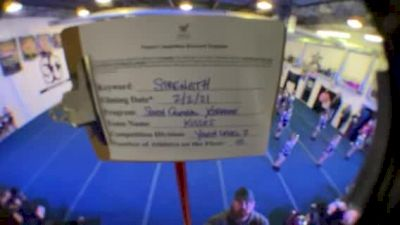 South Central Xtreme - Kisses [L2 Youth - D2 - Small] 2021 Varsity All Star Winter Virtual Competition Series: Event II