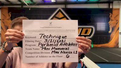 Pyramid Athletics [L1 Mini - Novice] 2021 Varsity Virtual Competition Series - Prep & Novice II
