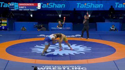 Nick Gwiazdowski (USA) vs Sumit Sumit (IND)